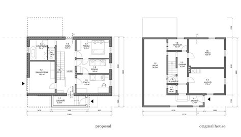2828 ground floor plan chalet in krkonoše znameni ctyr architekti archdaily