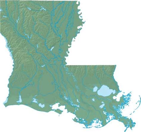 louisiana industry map louisiana state information and facts at 4