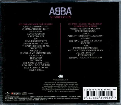 abba number ones www getabba abba cd collection