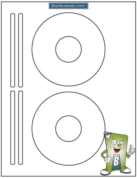 Avery Dvd Template by Blank Laser Ink Jet Labels For Cd Or Dvd 50 Sheets Avery