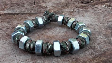 Prayer Bead And Hex Nut Paracord Bracelet (Music Version)   YouTube