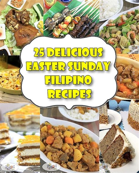 25 delicious easter sunday recipes