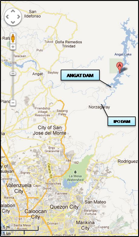 map louisiana dams angat dam club trip ebon