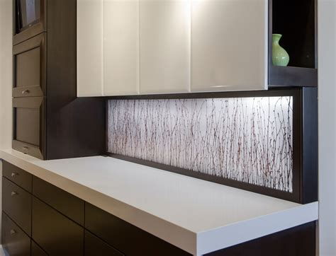 led backsplash custom kitchens dream kitchens