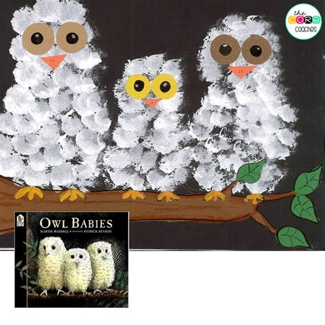 Paint Snowy Owls Tippytoe Crafts Preschool Books - 17 best images about forest on toddler books