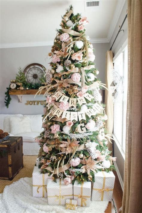 decorating a pink christmas tree pink tree decor ideas southern living