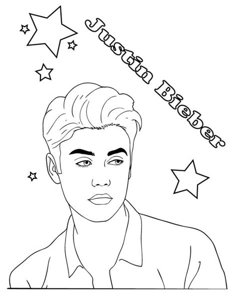 justin bieber coloring pages that you can print download coloring pages justin bieber page eassume of