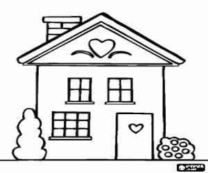 small house coloring page desenhos de casas para colorir jogos de pintar e imprimir 2