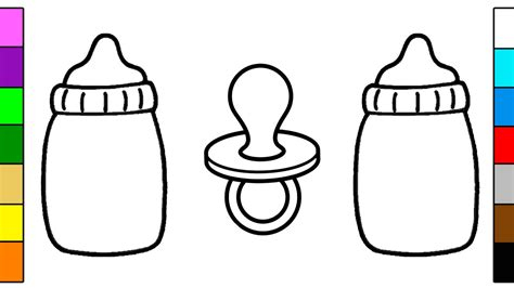 coloring page baby bottle coloring pages baby bottle murderthestout