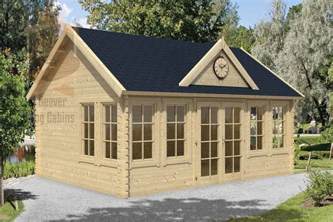 sunroom ni te log cabin clockhouse