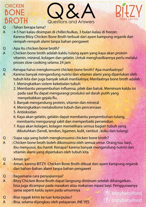 Harga Kaldu Ayam Mpasi by Jual Chicken Bone Broth Organic Kaldu Ayam Mpasi