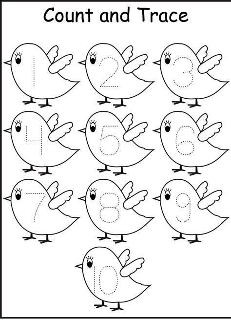 bird coloring page preschool ten beautiful bird coloring page kids crafts pinterest