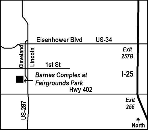Barnes Complex Loveland Co bfc barnes complex at fairgrounds park