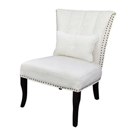 white tufted chair 66 unkown white tufted accent chair chairs