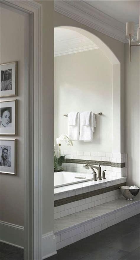 Bathroom Tile Nooks Mcdougald Design Bathrooms Arched Bath Nook
