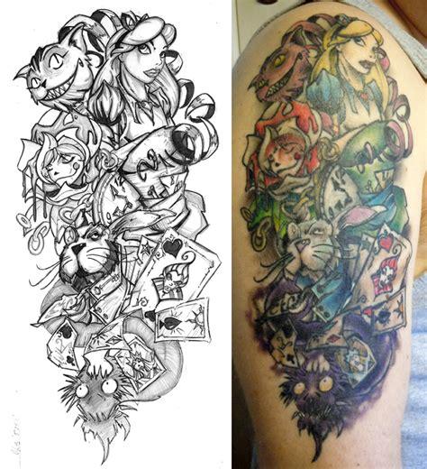 half sleeve tattoo drawing designs half sleeve finished by cogitat on deviantart
