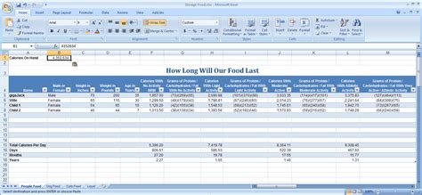 Pantry Inventory Software by Food Storage Inventory Software System The Survival Summary