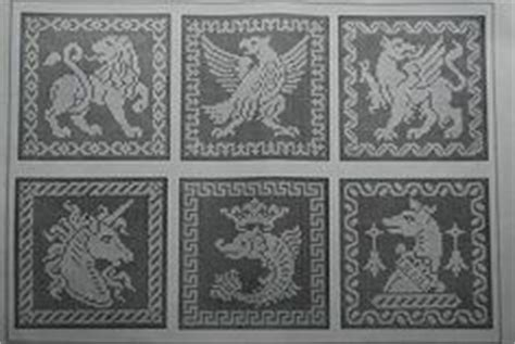 antique pattern library cross stitch 1000 images about filet lace animales on pinterest