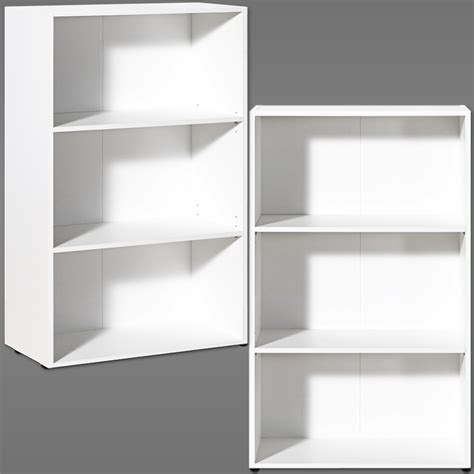 white bookcase shelf wooden shelves bookshelf 115cm