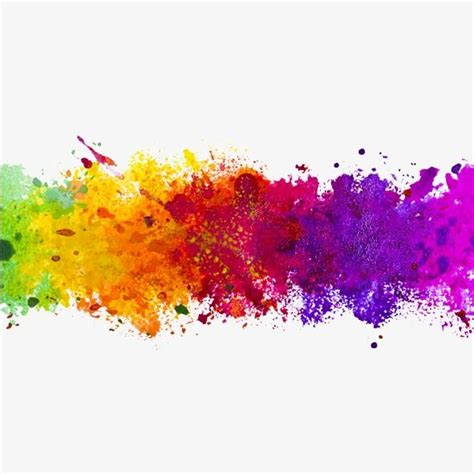 color ink splash color clipart splash clipart png