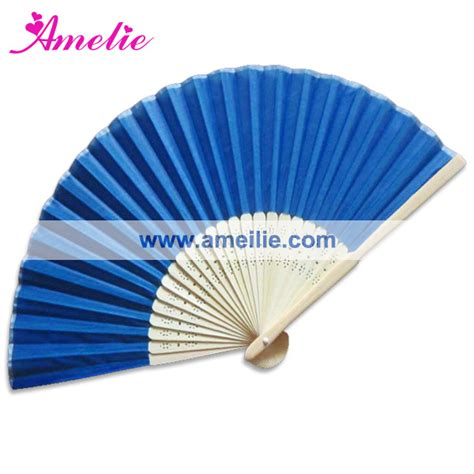 personalized folding fans for weddings 50piece lot with free shipping wholesale navy wedding silk