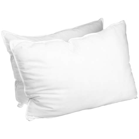 Pillow Sets Luxurious Alternative Solid Pillows Set Of 2