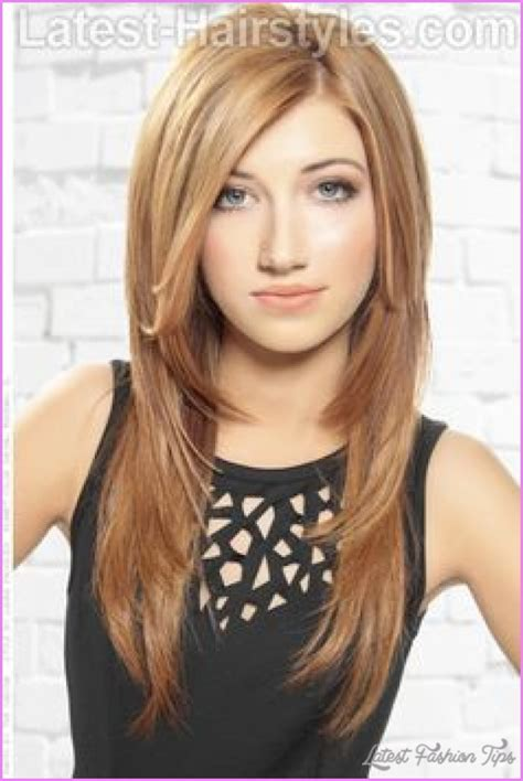 hair around longer in the back hairstyles haircut for long straight hair latestfashiontips com