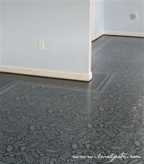 how to paint floors painted subfloors archives the honeycomb home