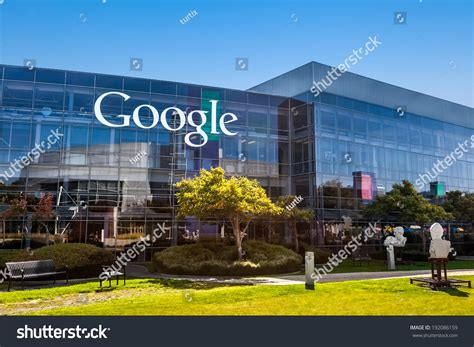 where is google headquarters located mountain view causa october 12 2013 stock photo 192086159