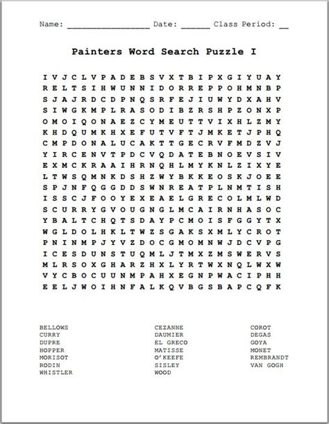 printable word search for language arts free printable word search for middle school students