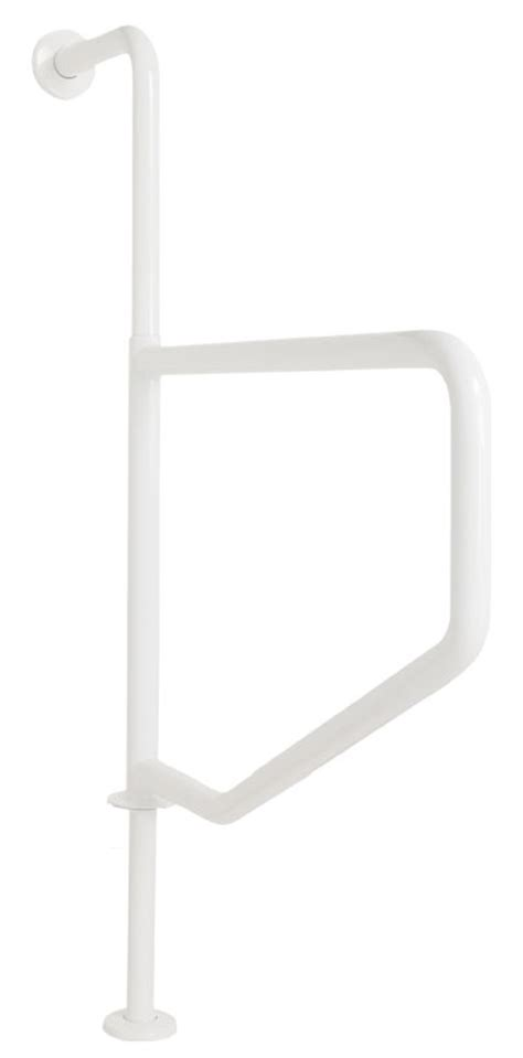 Floor Mounted Grab Bars by Lifestyle Wellness Series Safety Grab Bars With A