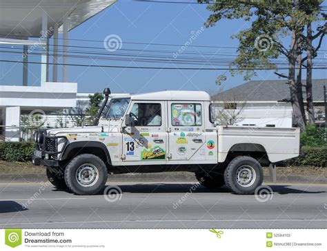 land rover truck land rover truck editorial stock photo