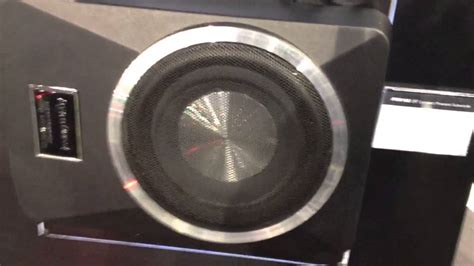 al eds autosound car audio systems including car psw182 powered under seat subwoofer with built in amplifer