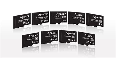 Pasaran Micro Sd pr apacer luncurkan kartu micro sd micro sdhc industrial dengan semua jajaran kapasitas