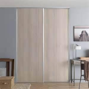 1 porte de placard coulissante valla acacia 62 2 x 245 6
