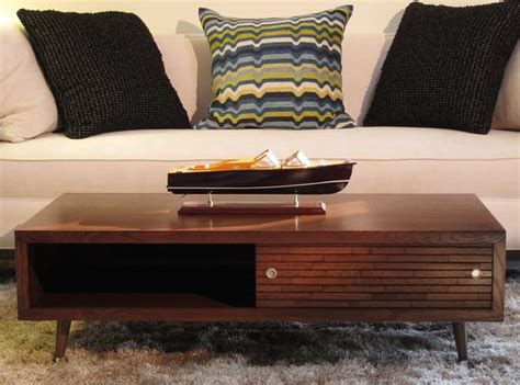 Retro Coffee Table Woodwaves Modern Retro Coffee Table