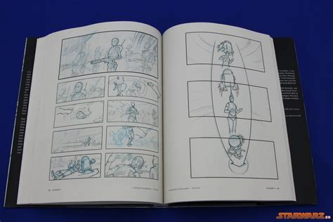libro star wars storyboards review libro star wars storyboards the prequel trilogy starwarz es