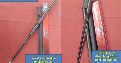 Baton Sword Panjang Tongkat Pisau Tongkat Golok Samurai Tongka pabrik pedang katana samurai senjata silat