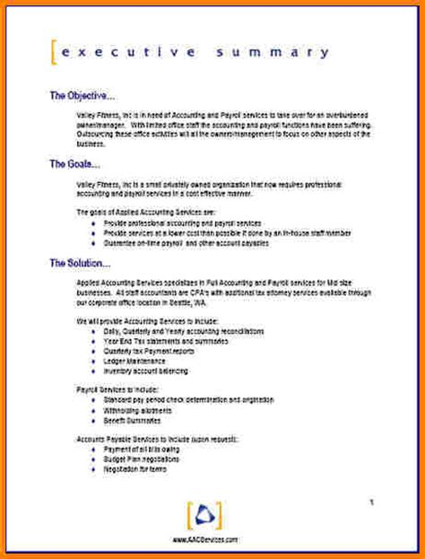 one page project template one page project template template 2017