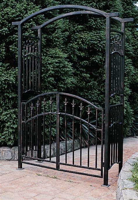 Iron Garden Arbor Gate Wrought Iron Arbor Inspiration Garden Plants