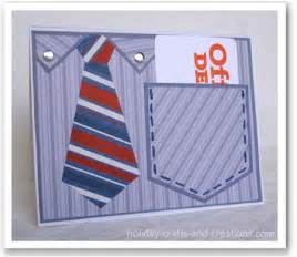 crafts and creations fathers day cards shirt pocket cards