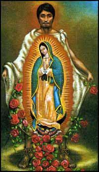imagenes de la virgen maria con juan diego virgen de guadalupe