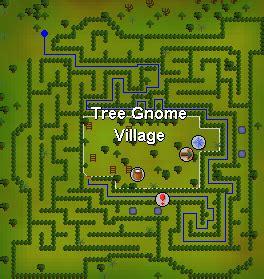 tree gnome village maze tree gnome village quests tip it runescape help
