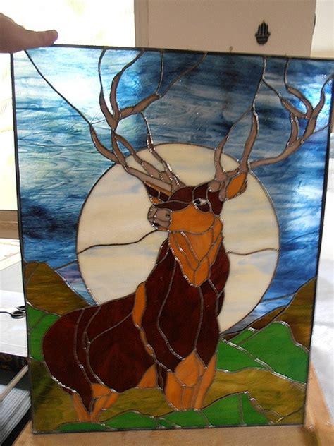 buck glass fish 17 meilleures images 224 propos de stained glass deer sur