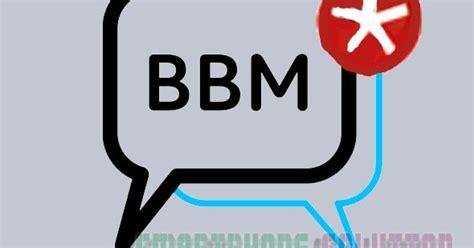 tutorial logo bbm pesan bbm tidak masuk jika tidak dibuka begini cara
