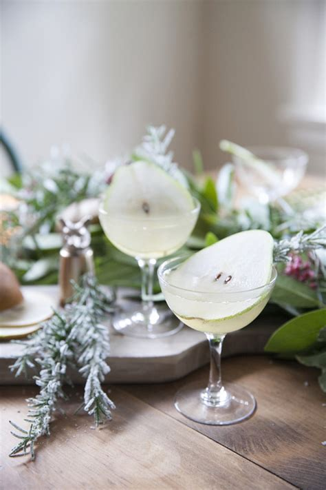 coco kelley holiday cocktail recipe the pear tree coco kelley