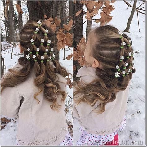 tree hair elastic tree with ornaments s hair