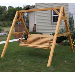 Patio Swing Set Centerville Amish Heavy Duty 700 Lb Classic Porch