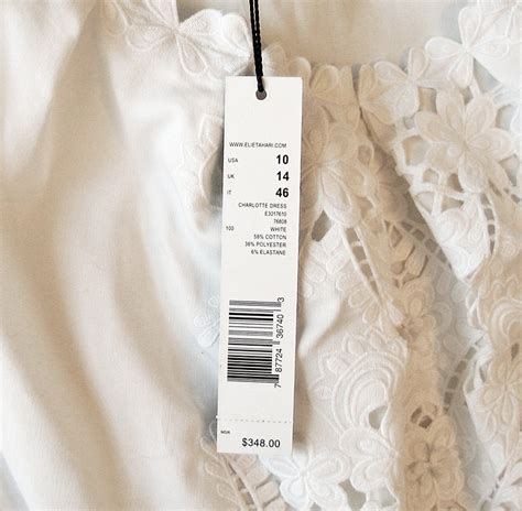 20752 Import Cotton Casual Top Big Stripe elie tahari white embroidered dress nwt us