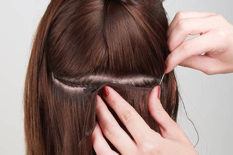 types of sew in hair extensions types of hair extensions hair extensions